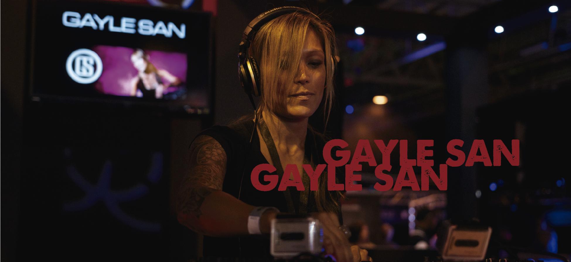 Profile: GAYLE SAN